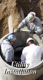 Utilities Installation